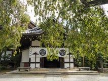 Entrata del santuario di Toyokuni, Kyoto Fotografia Stock