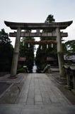 Entrata del santuario shintoista Fotografie Stock Libere da Diritti
