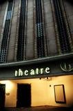 Entrata del teatro Fotografia Stock