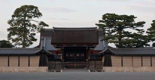 Entrata del tempio di Kyoto Giappone Fotografia Stock Libera da Diritti