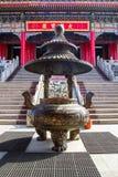 Entrata del tempio di Leng Noei Yi 2 Fotografia Stock Libera da Diritti