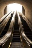 Entrata del treno della metropolitana Fotografia Stock
