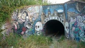 Entrata del tunnel Immagine Stock Libera da Diritti