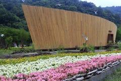 Entrata dell'Expo verde ilan, Taiwan Fotografia Stock Libera da Diritti