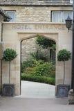 Entrata dell'hotel Fotografia Stock