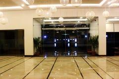 Entrata dell'hotel Immagini Stock