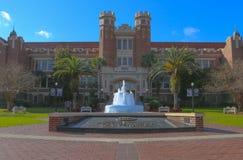 Entrata dell'università di Stato di Florida fotografia stock libera da diritti