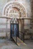 Entrata della basilica Fotografie Stock