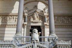 Entrata della basilica di Fourviere Immagini Stock Libere da Diritti