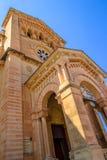 Entrata della basilica di Pinu di tum Fotografia Stock Libera da Diritti