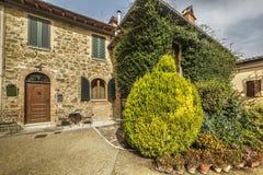 Entrata della Camera in Toscana Fotografie Stock