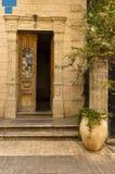 Entrata della casa di Shlush Fotografie Stock