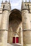 Entrata della cattedrale del Saint Pierre Fotografia Stock