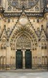 Entrata della cattedrale della st Vitus Immagine Stock Libera da Diritti