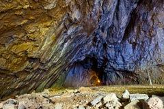 Entrata della caverna Immagini Stock Libere da Diritti