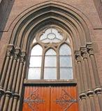 Entrata della chiesa immagini stock libere da diritti