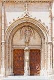Entrata della chiesa Immagini Stock