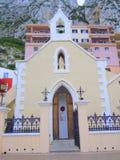 Entrata della chiesa cattolica romana Fotografia Stock Libera da Diritti