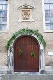 Entrata della chiesa del cappuccino. Ostenda, Belgio Immagini Stock