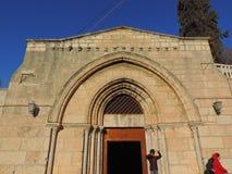 Entrata della chiesa del sepolcro di St Mary Fotografia Stock