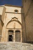 Entrata della chiesa di Belmonte Fotografia Stock Libera da Diritti