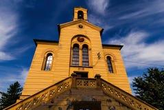 Entrata della chiesa, st Dimitrije, Zemun, Belgrado Fotografie Stock