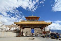 Entrata della città di Leh in Ladakh immagine stock