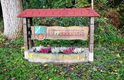 Entrata della città a Lipperbruch Immagine Stock Libera da Diritti