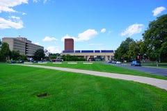 Entrata della città universitaria Fotografia Stock Libera da Diritti