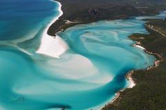 Entrata della collina - vista aerea Fotografia Stock Libera da Diritti