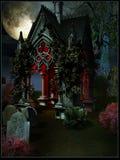 Entrata della cripta Immagini Stock