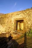 Entrata della fortificazione Fotografie Stock