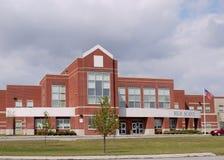 Entrata della High School Fotografia Stock Libera da Diritti