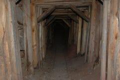 Entrata della miniera della città fantasma dell'Arizona Immagine Stock Libera da Diritti