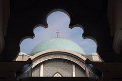 Entrata della moschea di Wilayah Immagini Stock