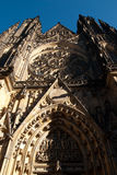 Entrata della st Vitus Cathedral Fotografia Stock Libera da Diritti