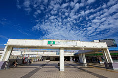 Entrata della stazione di Ueno a Tokyo Fotografia Stock Libera da Diritti