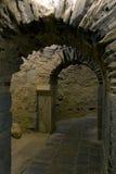 Entrata della tomba Fotografia Stock