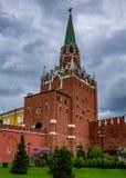 Entrata della torre di Spasskaya Fotografia Stock