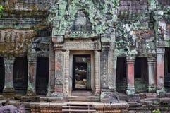 Entrata di Angkor Fotografia Stock