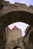 Entrata di Carcassonne Immagine Stock