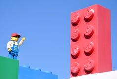Entrata di Legoland Immagine Stock
