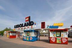 Entrata di Legoland Fotografia Stock