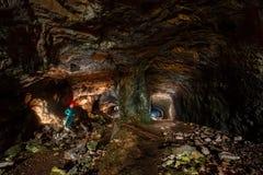 Entrata di Napoleon Tunnel Fotografie Stock
