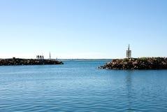 Entrata di porto Fotografie Stock