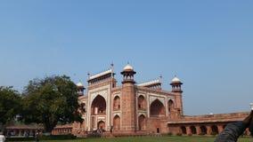 Entrata di Taj Mahal Immagine Stock