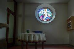 Entrata di una chiesa Fotografia Stock Libera da Diritti