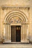 Entrata di una chiesa Fotografie Stock Libere da Diritti