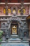 Entrata dorata del tempio Immagini Stock Libere da Diritti