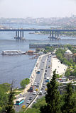 Entrata dorata di Horn a Costantinopoli, Turchia Fotografie Stock Libere da Diritti